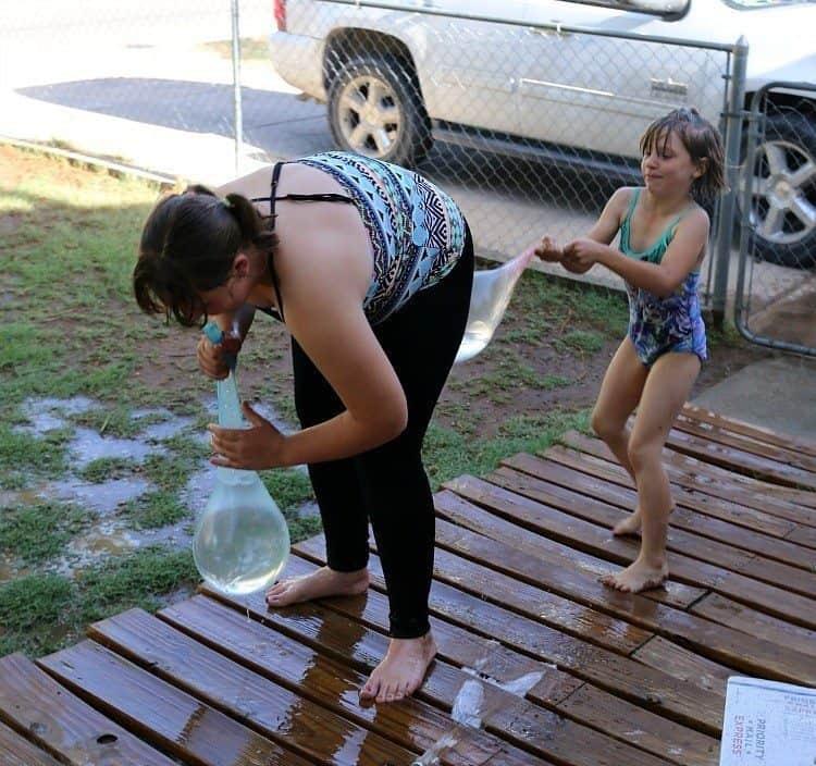 Fun In The Sun With Water Wubble 2