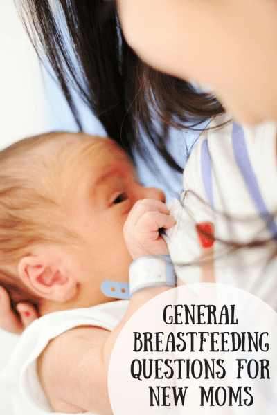 General Breastfeeding Questions for New Moms