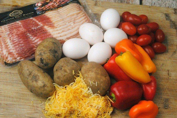 Southwest breakfast Veggies