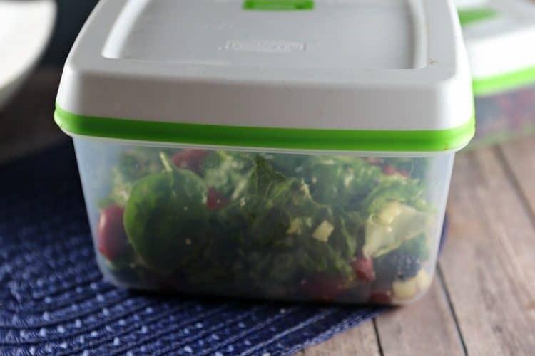 Berry Avocado Spinach Salad with Balsamic Vinaigrette Dressing 2