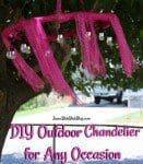 DIY Outdoor Chandelier for Any Occasion