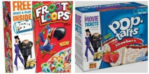 Win a $25 Visa Gift Card, 2 boxes of Strawberry Pop Tarts, 2 boxes of Froot Loops cereal and Yummy Spoonfuls coupon kit Giveaway 3