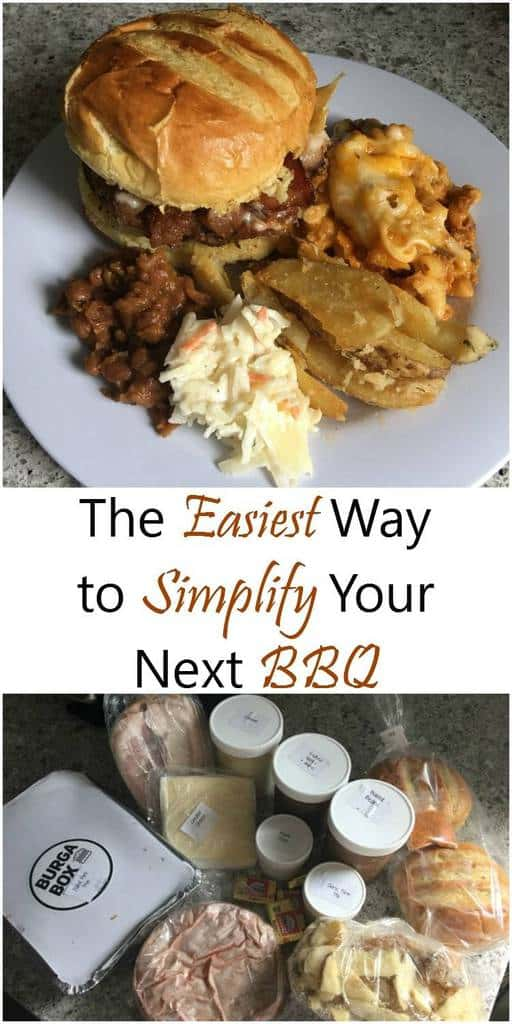 The Easiest Way to Simplify Your Next BBQ #BurgaBox #BBQ
