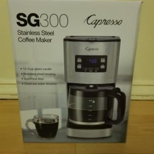 Capresso 12-Cup Coffee Machine Review 4