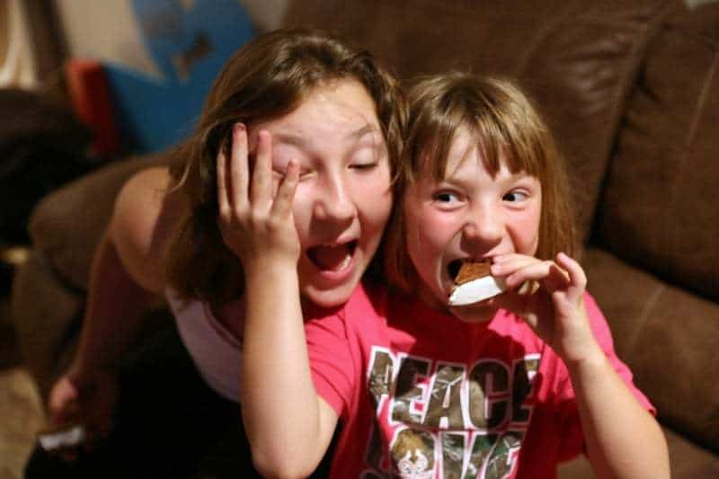 Chocolate Dipped FatBoys Mini's Ice Cream Sandwiches with Sprinkles