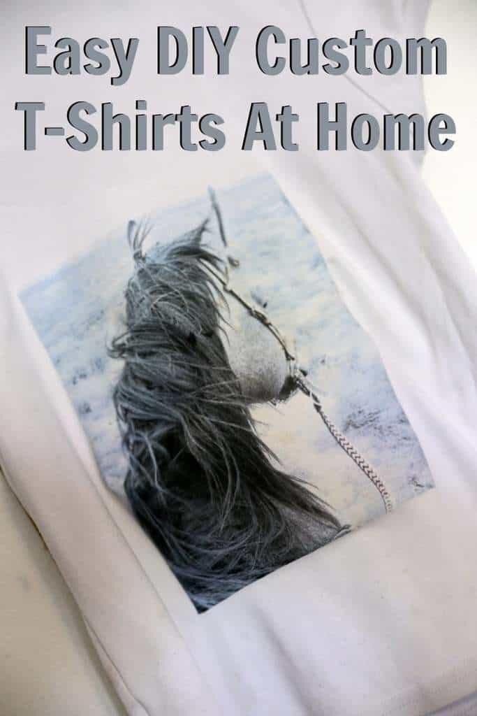 Easy DIY Custom T-Shirts At Home
