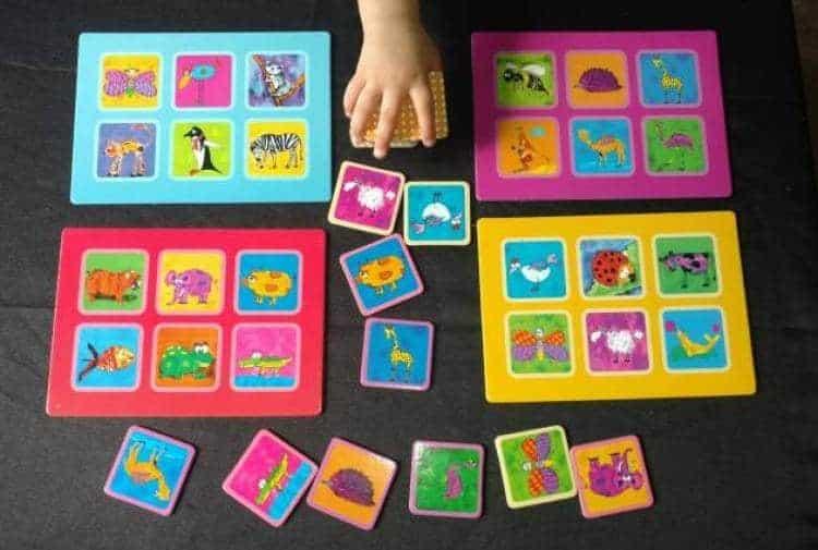 The Purple Cow Lotto Animals