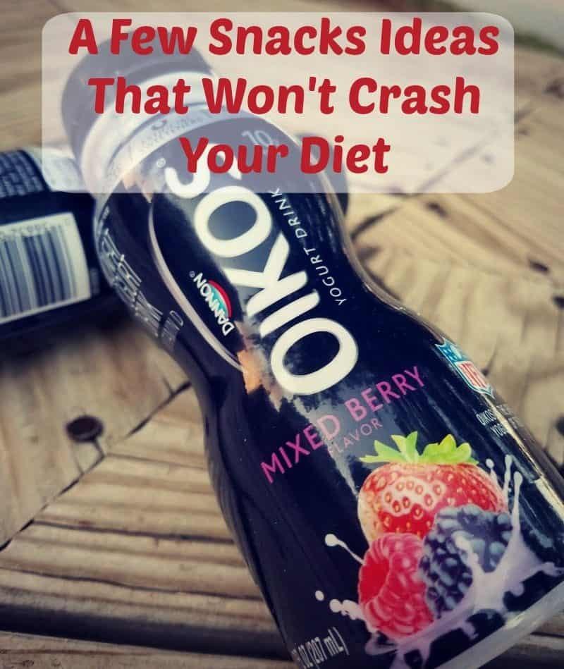 A Few Snacks Ideas That Won't Crash Your Diet