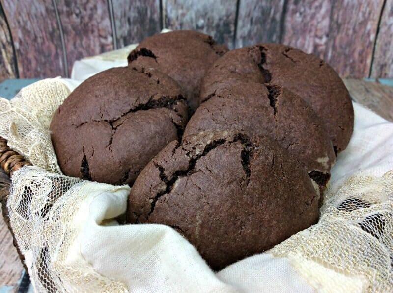 Rolo Stuffed Chocolate Cookies Recipe