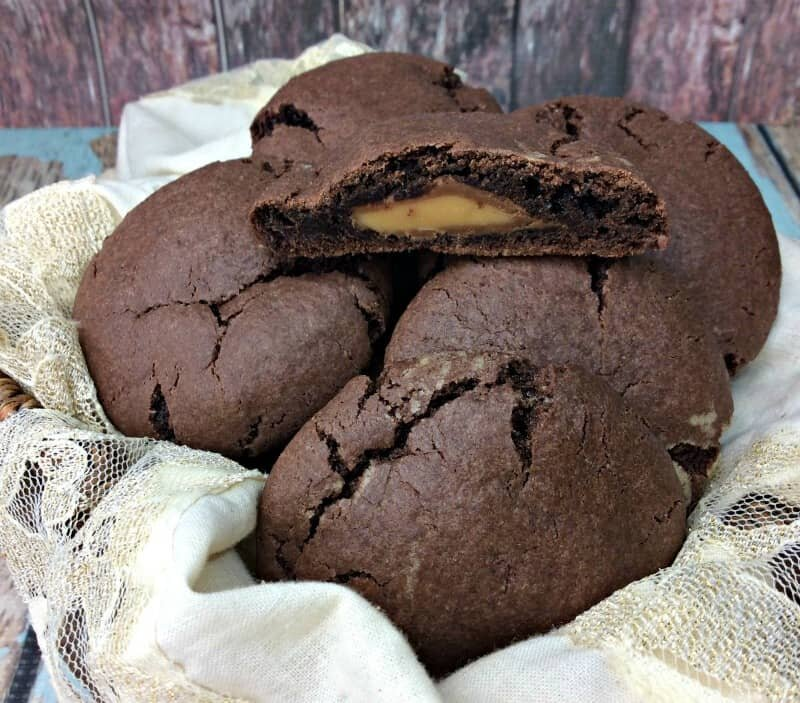 Rolo Stuffed Chocolate Cookies Recipe & Embracing The Leftover Mess + Sweepstakes