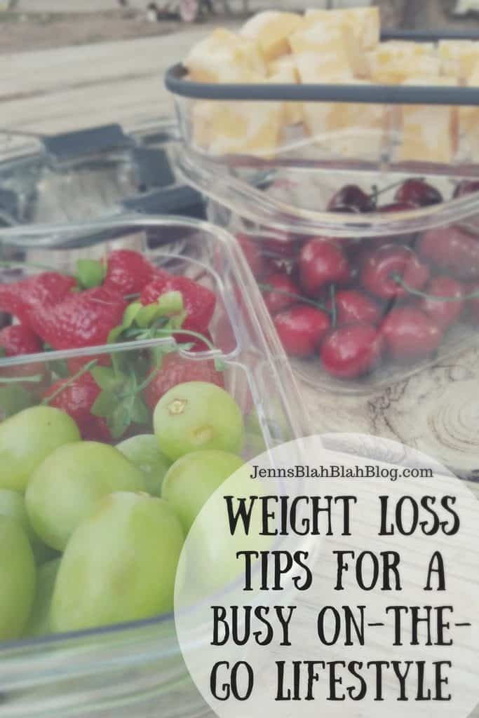 Weight Loss Tips for a Busy On-The-Go Lifestyle