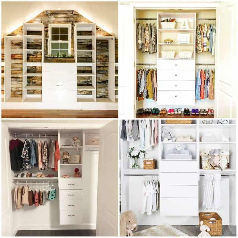 Get Creative & Get Organized With Modular Closets! 7
