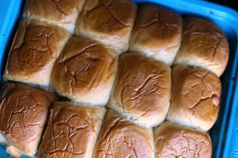 Roast Beef Mushroom & Swiss Sliders 4
