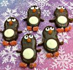 Cute Penguin Nutter Butter Cookies Recipe