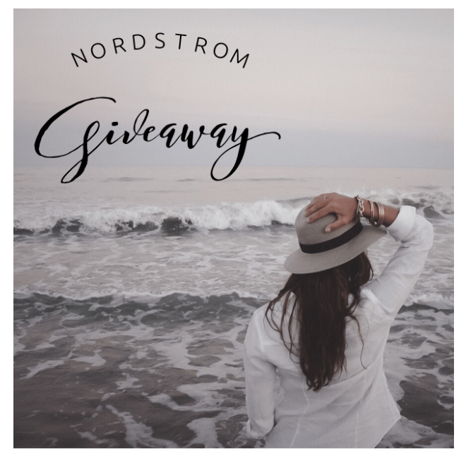 Don't Miss The Nordstrom Giveaway 3