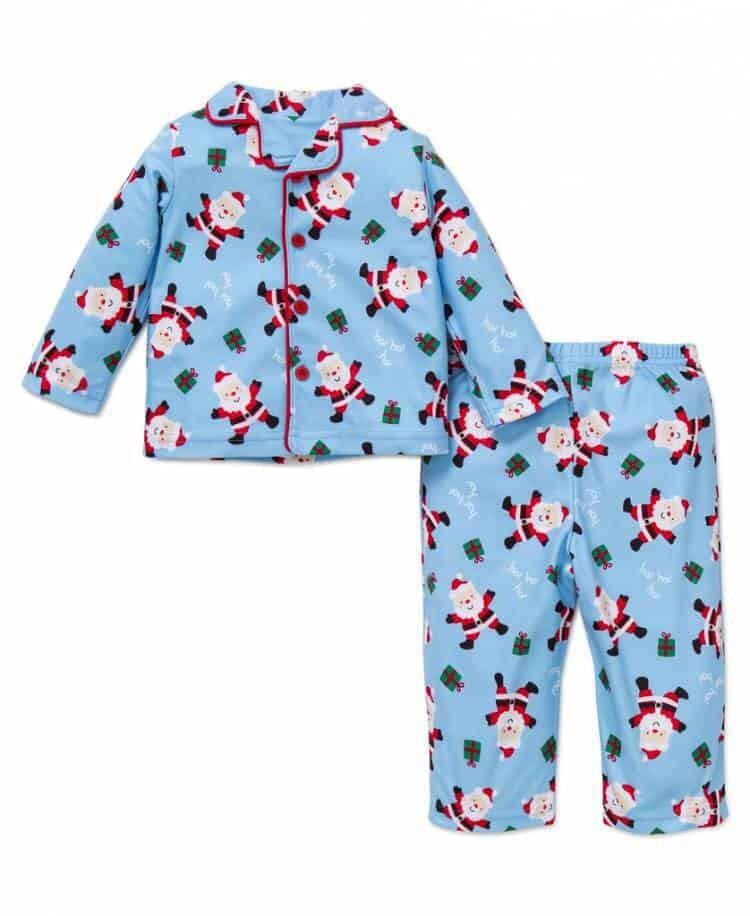 Boys Santa Pajama Set