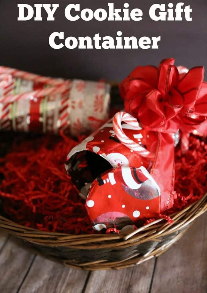 DIY Cookie Gift Container