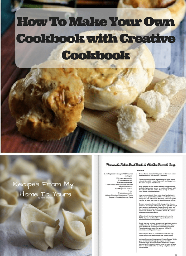how to make your own cookbook with createmycookbook jenns blah