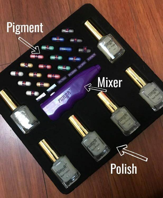 Make your own custom nail polish with Rungh + 50% off code! #GiftGuide 7
