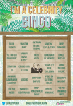 I'm A Celebrity Get Me Out Of Here Bingo Card Printable