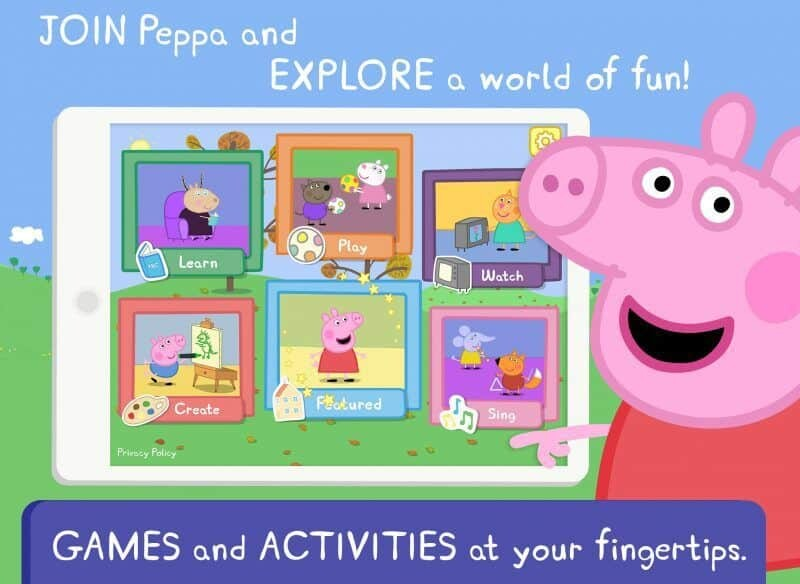World of Peppa Pig App Review 1