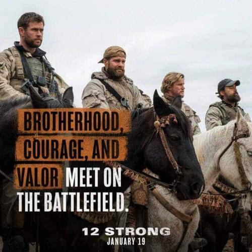 Win a $50 Fandango Gift Card to see the movie 12 STRONG and a 12 Strong Sweatshirt Giveaway 4