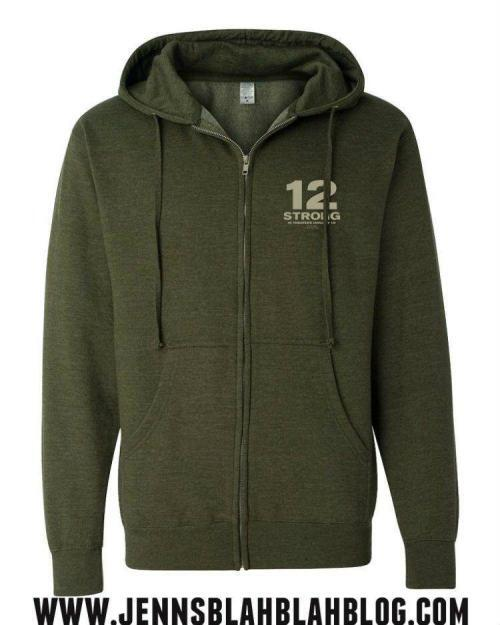 Win a $50 Fandango Gift Card to see the movie 12 STRONG and a 12 Strong Sweatshirt Giveaway 2