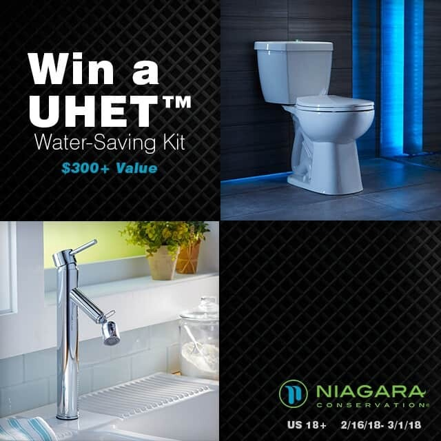 UHET-Water-Saving Kit Giveaway Instagram