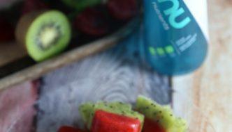 Wanu Water Strawberry Kiwi Ice Cubes