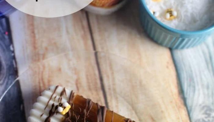 Honey Pecan Coffee Popsicles