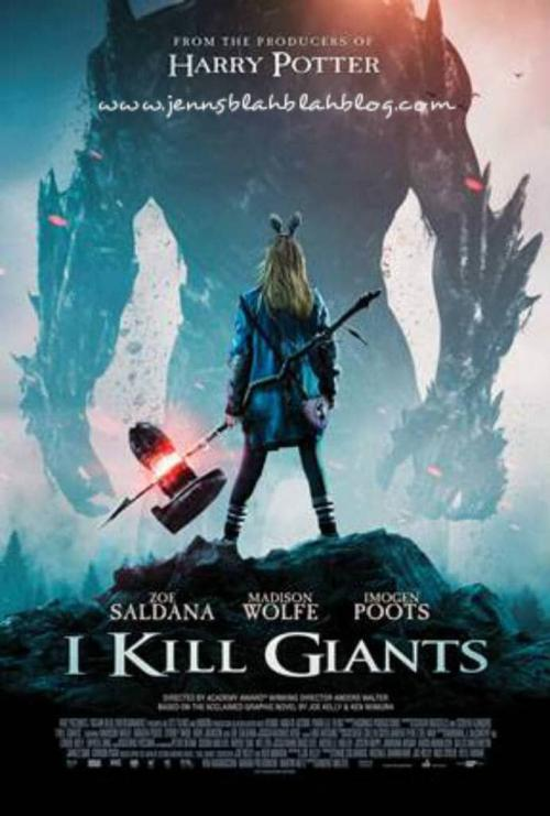 Win a $25 Visa Gift Card to see I KILL GIANTS in theaters, and copy of the book Giveaway 2