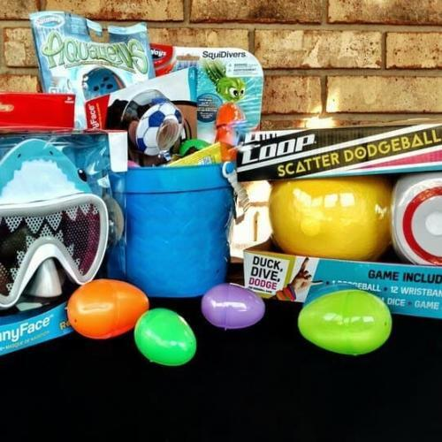 Create the Perfect Easter Basket with SwimWays Pool Toys