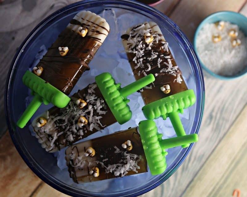 Honey Pecan Coffee Popsicle's