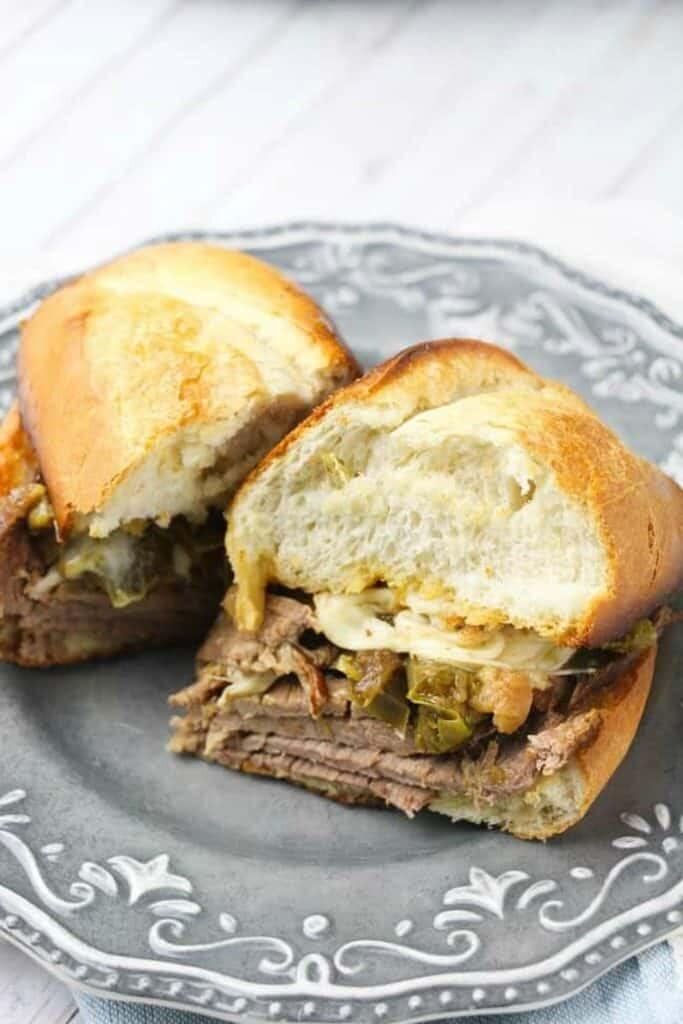 Instant Pot Philly Cheesesteak Sandwiches