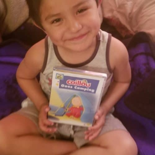 Caillou: Caillou Goes Camping DVD Review