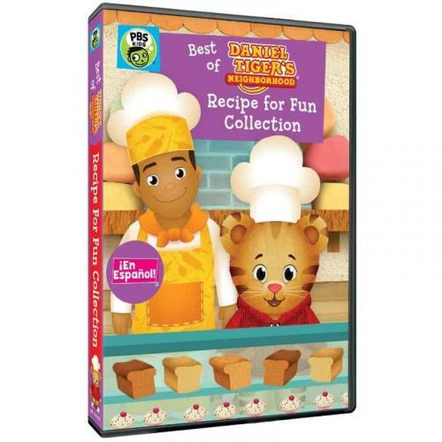 Daniel Tiger's Neighborhood: Recipe for Fun Collection DVD Review 1