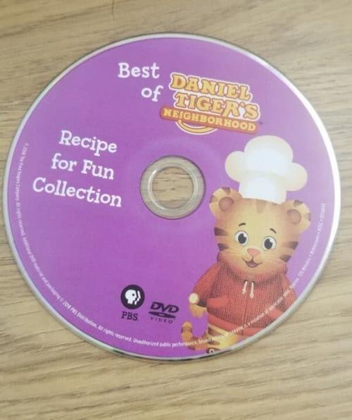 Daniel Tiger's Neighborhood: Recipe for Fun Collection DVD Review 2