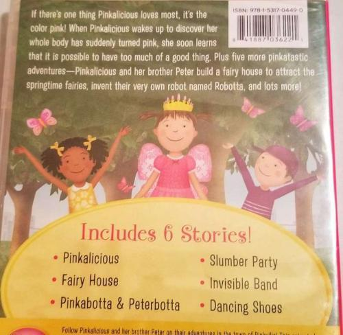 Pinkalicious and Peterrific: Pinkamagine It DVD and Book Review 10