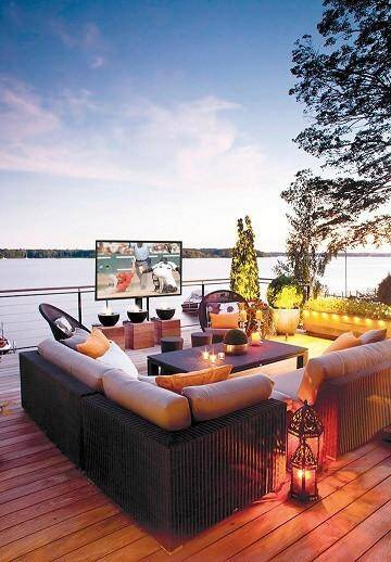 Enjoy Your Home Theater Outdoors 7