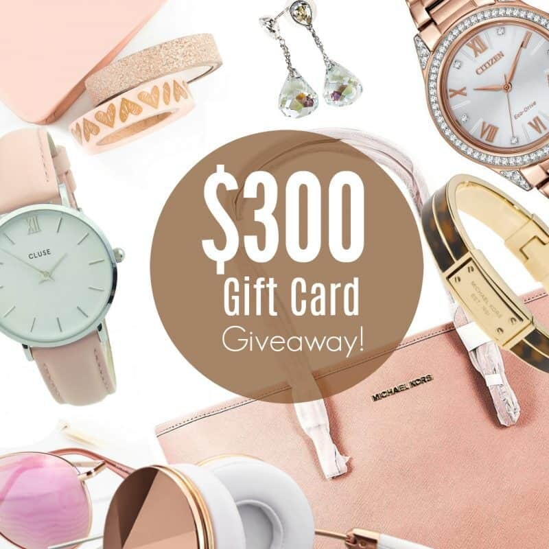 300 gift card giveaway