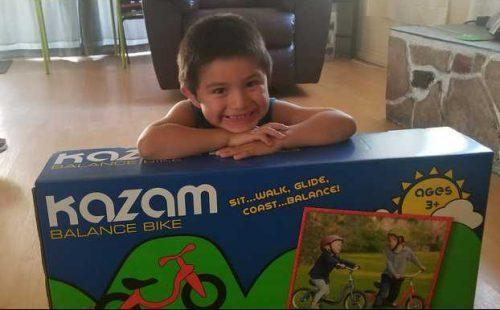 Kazam Neo Balance Bike Review + Giveaway 2