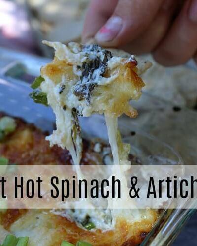 The Best Hot Spinach & Artichoke Dip Recipe!