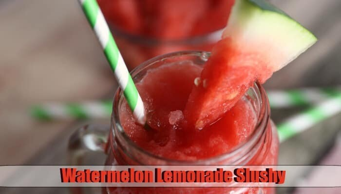 Watermelon Lemonade Slushy