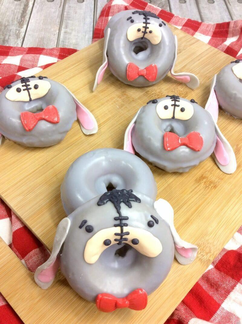 Homemade Eeyore Donuts