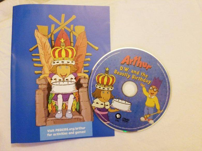 Arthur D.W. and the Beastly Birthday DVD Review 3