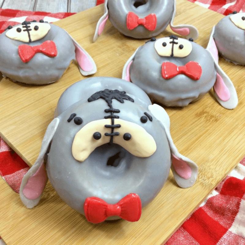 Homemade Eeyore Donuts Recipe