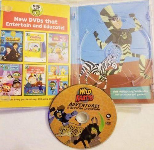 PBS Kids Wild Kratts: Adventures on the African Savannah DVD Review 3