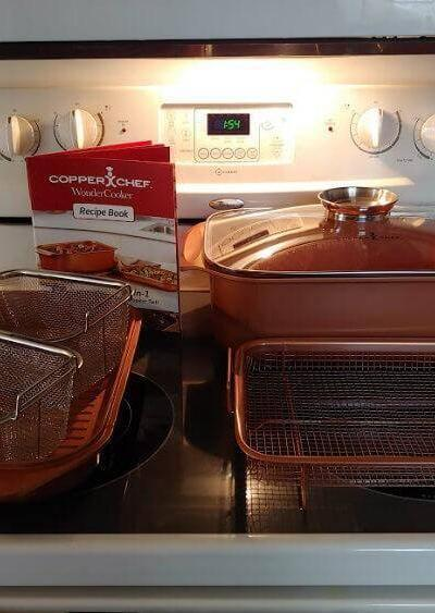 It's Wonderful!  The Copper Chef Wonder Cooker XL