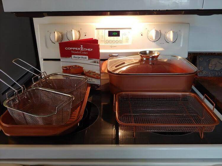 It's Wonderful!  The Copper Chef Wonder Cooker XL 2
