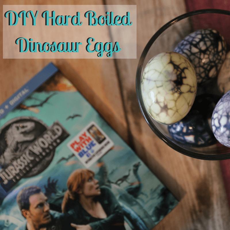 DIY Hard Boiled Dinosaur Eggs